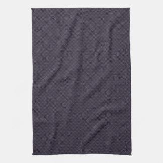 Black Plaid Pattern Kitchen Towel