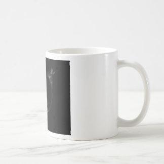 black planet 3d illustration in the universe coffee mug