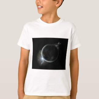 black planet 3d illustration in the universe T-Shirt