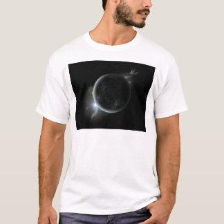 black planet 3d illustration in the universe T-Shirt