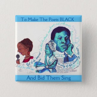 Black Poets- Black History Button