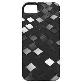 Black Pointy Cubes iPhone 5 Cover