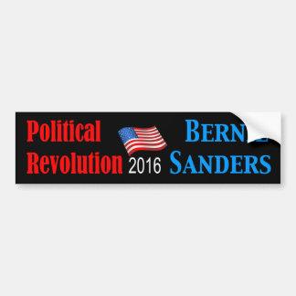 Black Political Rev.Bernie Bumper Sticker