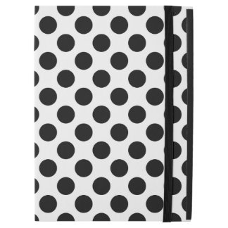 "Black Polka Dots iPad Pro 12.9"" Case"