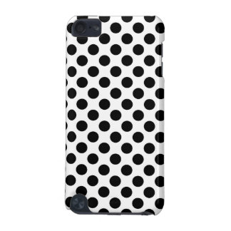 Black Polka Dots iPod Touch (5th Generation) Case