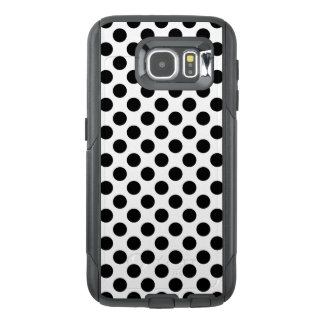 Black Polka Dots OtterBox Samsung Galaxy S6 Case