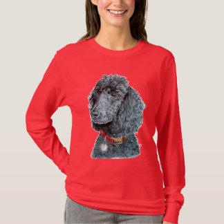 Black Poodle Whitney T-shirt