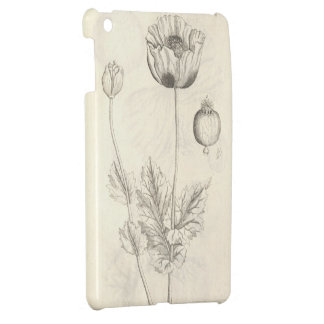 Black Poppy Case For The iPad Mini