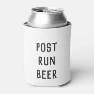 Black Post Run Can Cooler