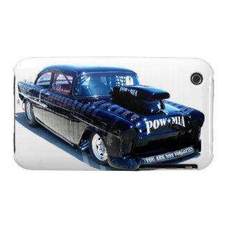 Black POW Classic custom car iPhone 3 Case-Mate Case