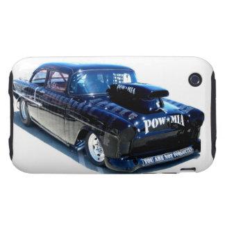 Black POW Classic custom car Tough iPhone 3 Cover