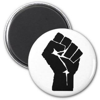 Black Power Fist Magnet