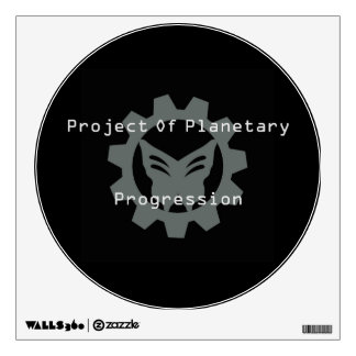 Black Project Logo Wall Decal 3