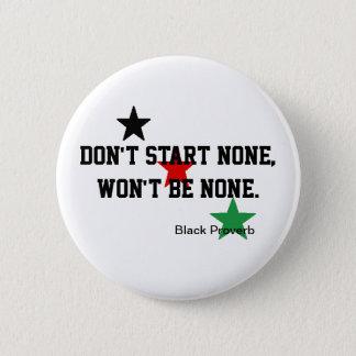 Black Proverb Button
