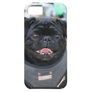 Black pug iPhone 5 case