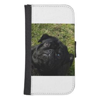 black-pug.png phone wallet cases