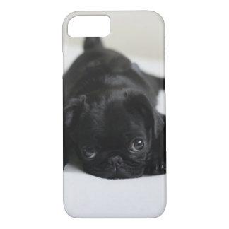 Black Pug Puppy iPhone 8/7 Case