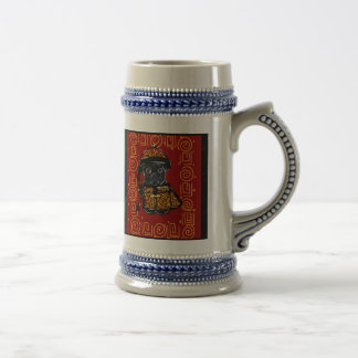 Black Pug Year of the Dog Beer Stein