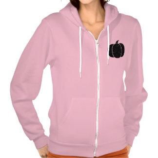 Black Pumpkin Neon Heather Pink Hooded Sweatshirt