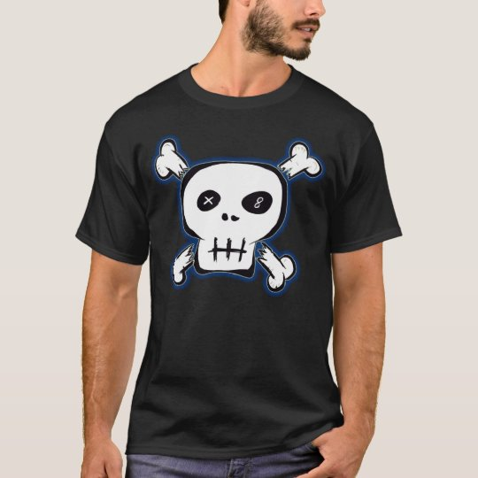 Black Punk Skull Shirt