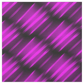 BLACK-PURPLE FUCHSIA FIRE  Combed Cotton Fabric