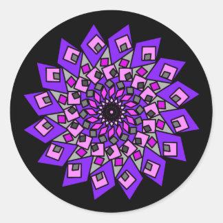 Black Purple Pink Cosmic Diamond Stickers