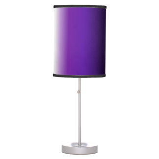 Black Purple White Ombre Table Lamp