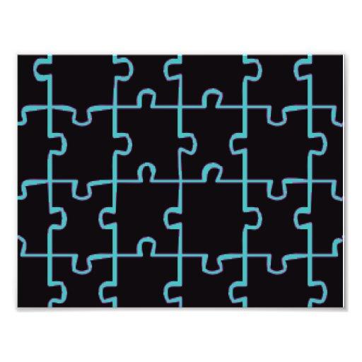 Black Puzzle Photo