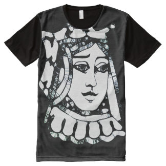 Black Queen All-Over-Print T-Shirt
