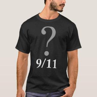 Black Question Mark 9/11 T-Shirt