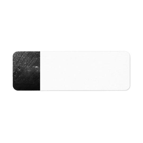 Black Rain Return Address Label