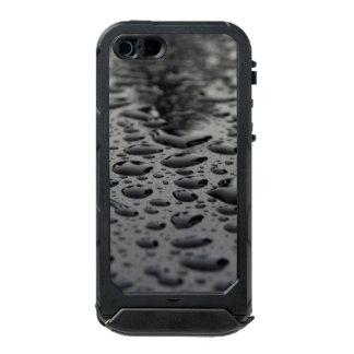 Black Raindrops iPhone 5/5s ATLAS ID™, Black Incipio ATLAS ID™ iPhone 5 Case