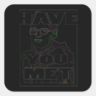 Black Rave Travis Sticker