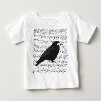 Black raven baby T-Shirt