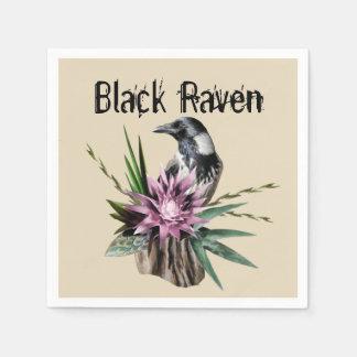 Black Raven Disposable Napkins