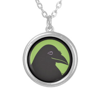 Black Raven Essentials Logo Pendant