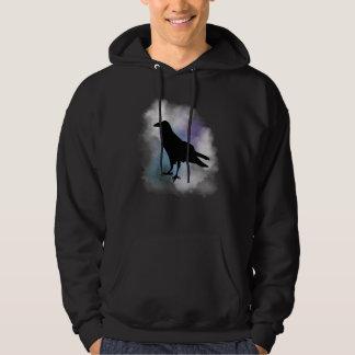 Black Raven in the Smoky Fog T-Shirt