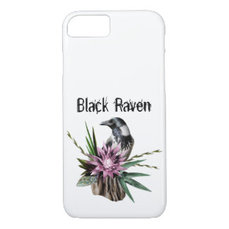 Black Raven iPhone 8/7 Case