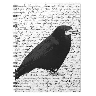 Black raven notebook