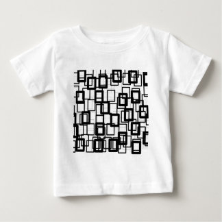 Black Rectangles Baby T-Shirt