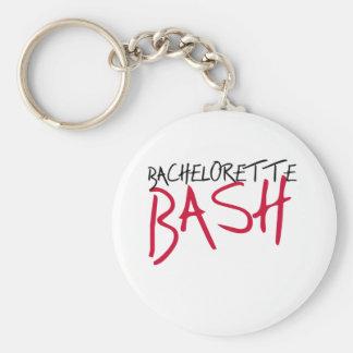Black/Red Bachelorette Bash Keychain