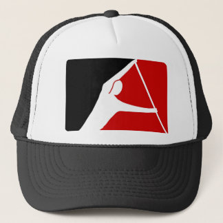 BLACK & RED LEAGUE OF PADDLERS TRUCKER HAT