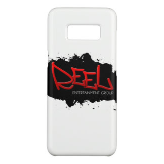 Black & Red REEL ENT Logo Phone/iPad/iPod Case