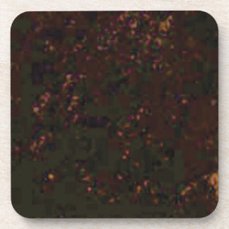black red specks coaster