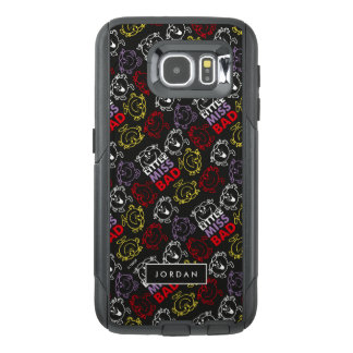 Black, Red & Yellow Pattern | Add Your Name OtterBox Samsung Galaxy S6 Case