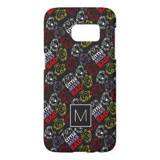 Black, Red & Yellow Pattern | Monogram Samsung Galaxy S7 Case