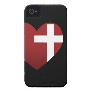 Black Rescue Church iPhone 4 Case