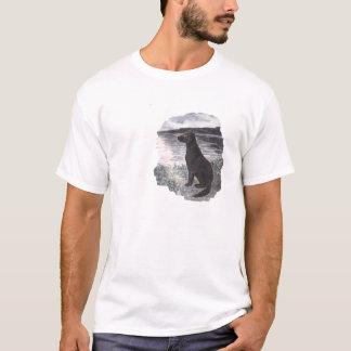 Black Retriever Dog T-Shirt