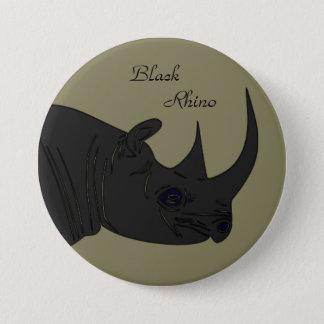 Black Rhino 3 Inch Round Button
