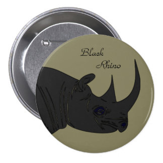 Black Rhino 3 Inch Round Button